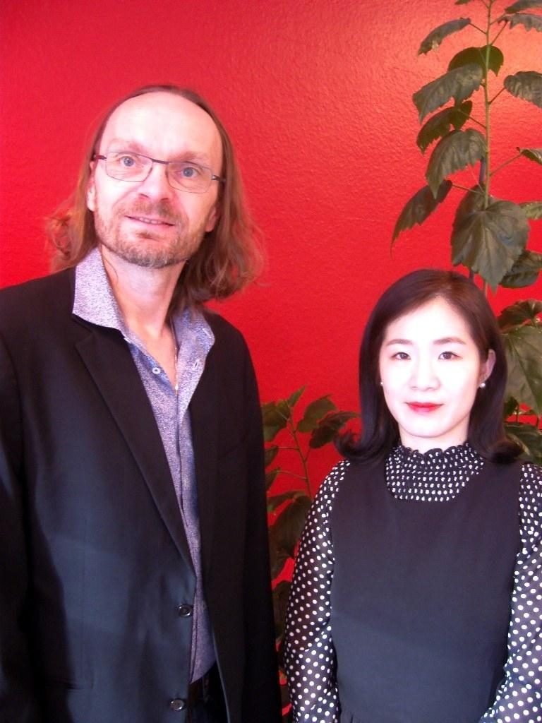 Jürgen Orelly und Ju-Hyeon Lee