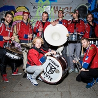 "Marching Band ""Meute"" beim KWP-Open Air"